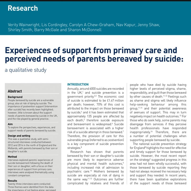 Open Access Parents Experiences